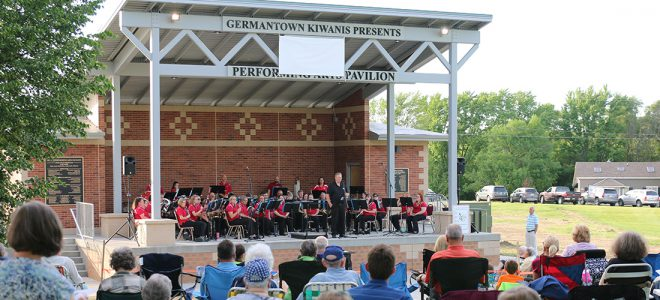 First Concert at Kiwanis' Pavilion