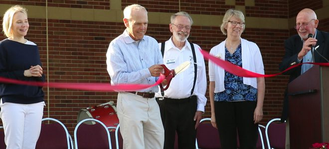 Gehl's Performing Arts Pavilion Dedication