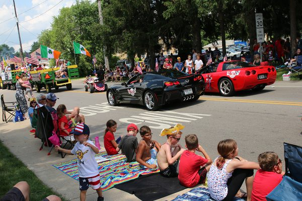 two-corvettes-in-parade