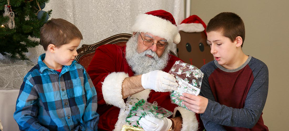 Kiwanis hosted its annual Breakfast with Santa event