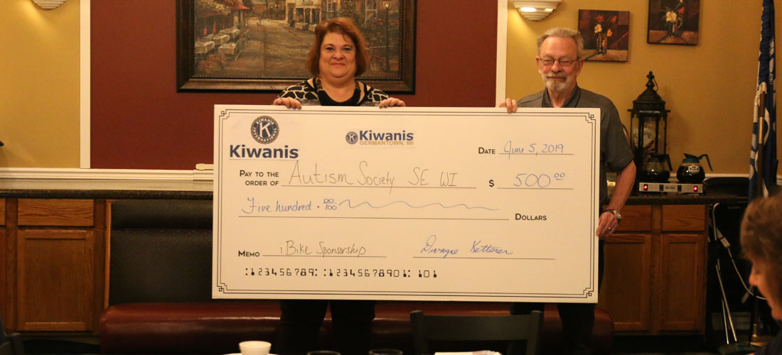 Kiwanis Sponsors iCan Bike Event