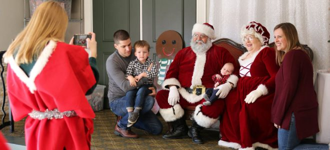 Santa Comes To Germantown