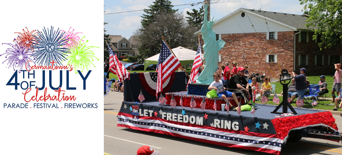 Kiwanis Brings Germantown 4th of July Parade To You