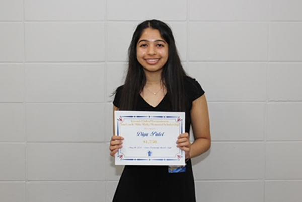 Germantown High School Scholarship Winner Diya Patel